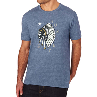 RESPECTED TRI-BLEND T-Shirt Hurley blue moon