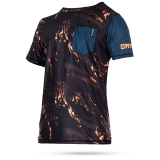 STONE QUICKDRY UV-Shirt Mystic Kurzarm orange