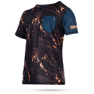 STONE QUICKDRY UV-Shirt Mystic Kurzarm orange M 50