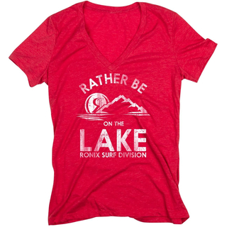 WOMENS ON THE LAKE T-Shirt Ronix heather red