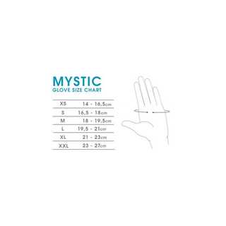 MSTC OPEN PALM Handschuh Mystic 1.5mm black