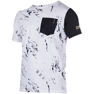 STONE QUICKDRY UV-Shirt Mystic Kurzarm white