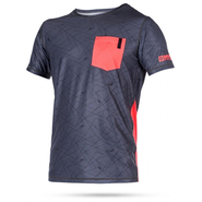LEN10 QUICKDRY UV-Shirt Mystic Kurzarm red