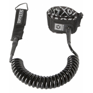 SUP COILED LEASH Safetyleash Mystic 10 black