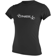 WOMENS BASIC SKINS UV-Shirt O`Neill Kurzarm black