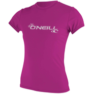WOMENS BASIC SKINS UV-Shirt O`Neill Kurzarm fox pink M 38