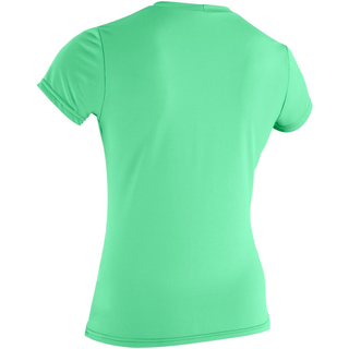 WOMENS BASIC SKINS UV-Shirt O`Neill Kurzarm seaglass