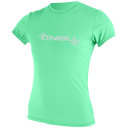 WOMENS BASIC SKINS UV-Shirt O`Neill Kurzarm seaglass M 38