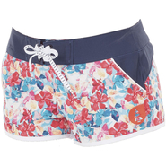 Picture Hawaii 3 Boardshort Picture dark blue flower