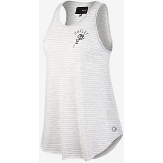 Hurley Dri-Fit Rose Singlet Top heather grey
