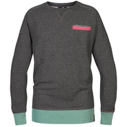 Schwerelosigkite Pocket Sweat Longsleeve asphalt denim
