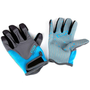 AMARA GLOVES FULL FINGER Handschuh ION blue/grey XS