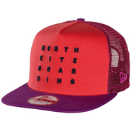 North Kiteboarding Letter New Era Cap 9Fifty red