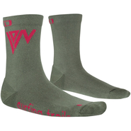 ION Bike Role Socks Mid woodland