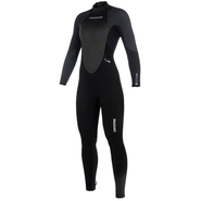 Mystic Star Fullsuit Women 5/4mm black/grey M 38
