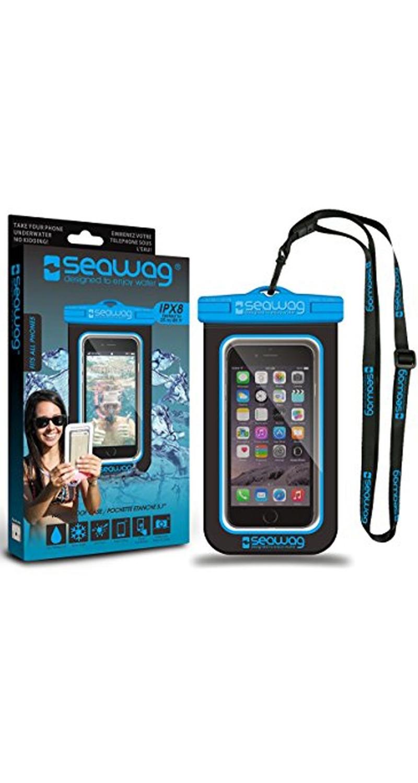 "Seawag Wasserdichte Handyhülle 5.7"" black/blue SEAWAG_B2X"