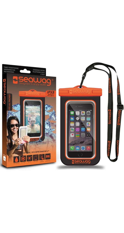 "Seawag Wasserdichte Handyhülle 5.7"" black/orange SEAWAG_B5X"