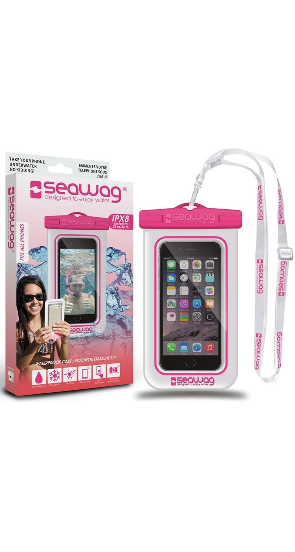 """Seawag Wasserdichte Handyhülle 5.7"""" white/pink SEAWAG_W3X"""