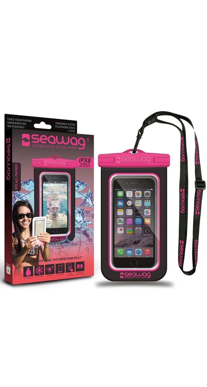 "Seawag Wasserdichte Handyhülle 5.7"" black/pink SEAWAG_B3X"