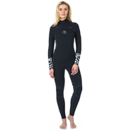 Rip Curl Flashbomb Fullsuit Front-Zip 5/3mm black/white
