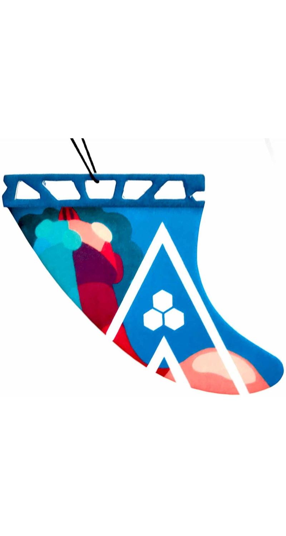 FRESH Kite- & Windsurfing HUMAN - FIN Duftbaum Fresh Kitesurfing pińa colada HFPC