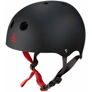 Triple 8 Halo Helm black rubber
