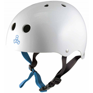 Triple 8 Halo Helm matt white