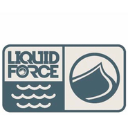 Liquid Force Wave Logo Aufkleber 4.5