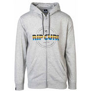 Rip Curl Big M Fleece Zip-Hoody cement marle