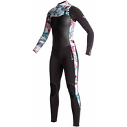 Roxy Performance Fullsuit Front-Zip 4/3mm black