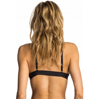 Rip Curl Day Break Hi Neck Bikini Oberteil black