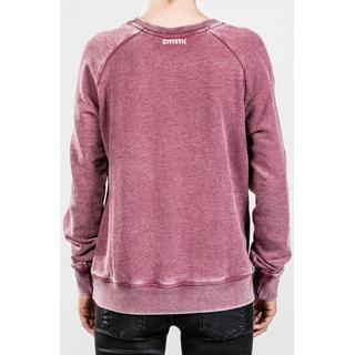 Mystic Diverge Sweater burgy red