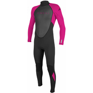 ONeill Youth Reactor Fullsuit 3/2mm black/berry 146 (10)
