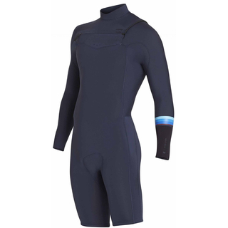 Billabong Revolution Front-Zip Springsuit Langarm 2mm slate