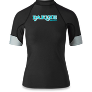 Dakine Flow Print Snug Fit UV-Shirt Kurzarm black L 40
