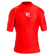 Rip Curl Corpo UV-Shirt Kurzarm red XS 46