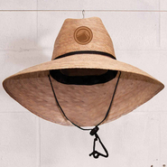 Liquid Force Tradition Straw Hat Sonnenhut