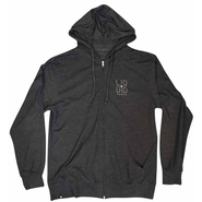 Liquid Force Crosshair Zip Up Zip Hoody charcoal/heather