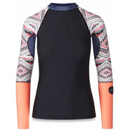Dakine Flow Print Snug Fit UV-Shirt Langarm lizzy