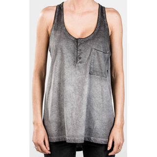 Mystic Rogue Singlet Top rock grey