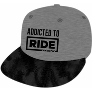 FANATIC Snapback Cap Addicted to Ride grey melange OneSize