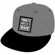 Fanatic Addicted To Ride New Era Cap heather grey