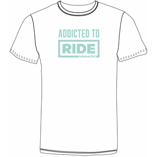 f751a0b69 Fanatic Addicted To Ride T-Shirt Girls white, 20,99 €