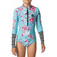 Rip Curl Girls Longsleeve UV-Surfsuit blue