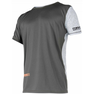Mystic Drip Quickdry UV-Shirt grey/orange