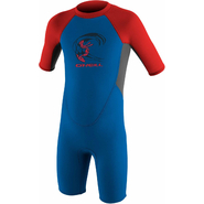 ONeill Reactor Toddler Shorty 2mm ocean/graphite/red