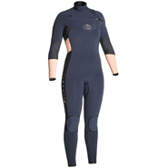 Rip Curl Flashbomb Fullsuit Front-Zip 4/3mm peach