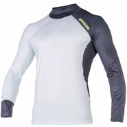 Mystic Crossfire Rashvest Langarm UV-Shirt grey XL 54