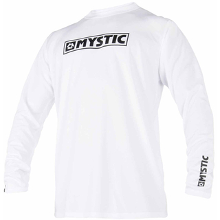 Mystic Star Quickdry Langarm UV-Shirt white