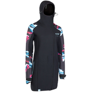 ION Neo Cosy Coat Core Women Neoprenmantel black capsule